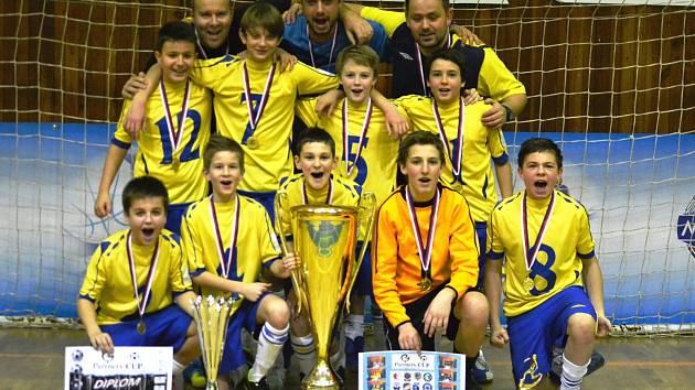 Vítězné družstvo FK Teplice