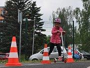 Dopraváček pro mateřské školy na hřišti v Proseticích