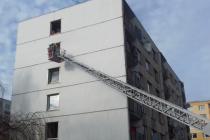 Při požáru v Duchcově zemřela starší žena.