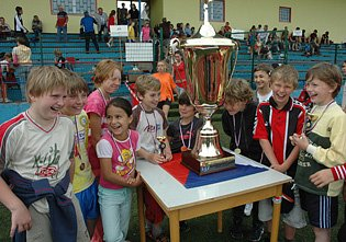V Krupce se soutěžilo o pohár.
