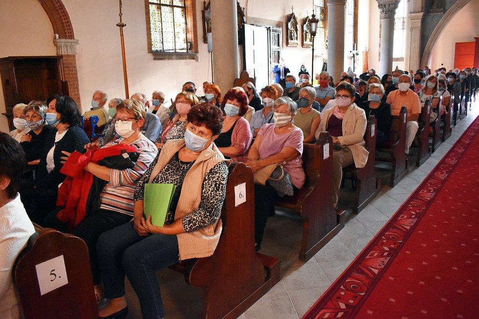 V Dubí slavili výročí kostela.
