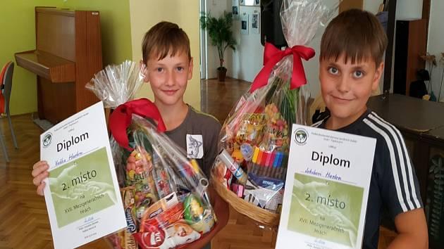 4. A Základní školy v Dubí 2 se zúčastnila Mezigeneračních her.