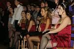 Maturitní ples biskupského gymnázia Bohosudov.