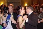 Maturitní ples tř. HŠ 4.B Hotelové školy Teplice