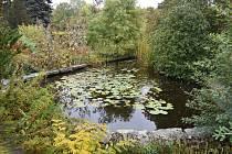 Botanická zahrada v Teplicích.