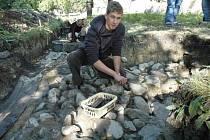 Archeologický průzkum v Lahošti.