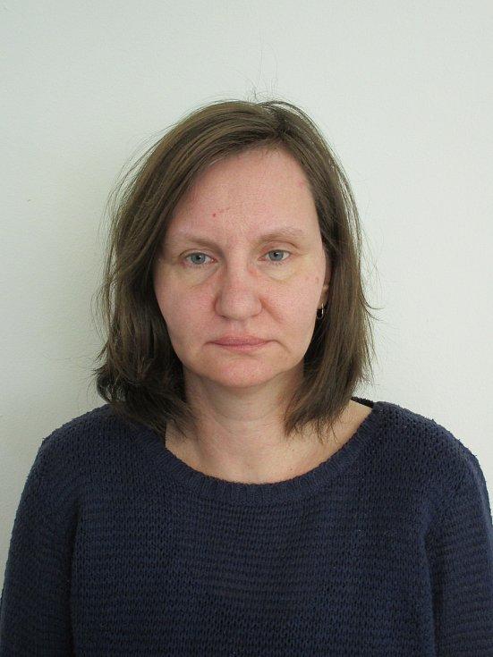 Veronika Mašínová před proměnou.