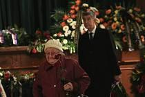 Poslední rozloučení s Jaroslavem Kuberou proběhlo v Krušnohorském divadle.