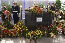 Pohřeb hasiče z Teplic, který tragicky zahynul na motorce..