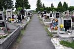 Hřbitov v Novosedlicích.