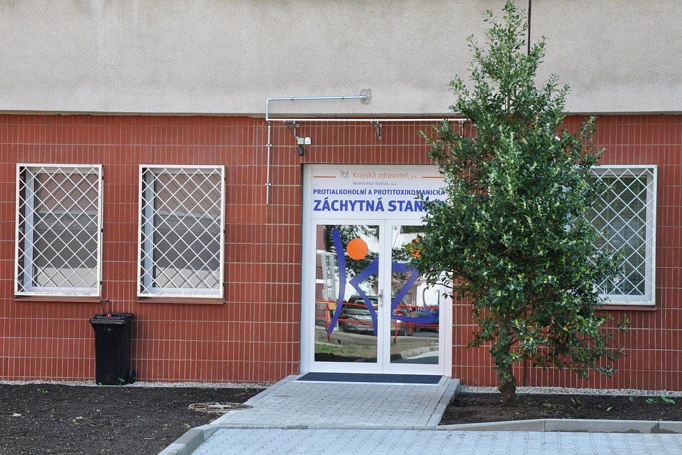 Protialkoholní záchytná stanice v Teplicích