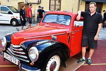 PAVEL MENSA A JEHO ŠKODA, modelové řady s číselným označením 1002, rok 1950.