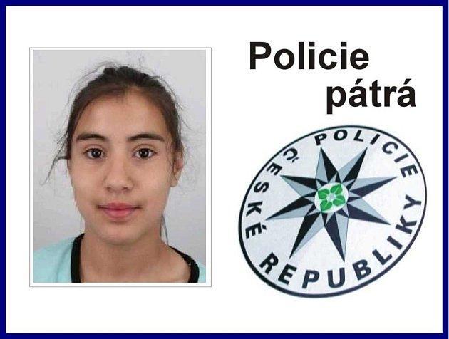 Policie žádá veřejnost o spolupráci při pátrání po nezletilé Nikole Balogové, která utekla z dětského domova.