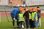 Fotbalista Ústí Michal Bílek