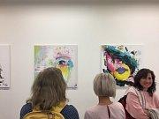 Výstava Barvy malířky Snížkové.
