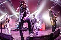 Kapela UDG odehraje za rok stovky koncertů. Snímek je z Rock for People 2014.