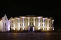 Památky v lokalitě Zámeckého náměstí v Teplicích jsou nově nasvíceny