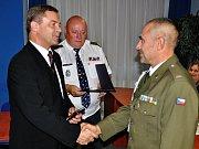 Legionáři dostali medaili