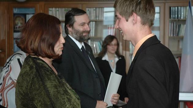 Předávaní maturitních vysvědčení na Gymnáziu Teplice