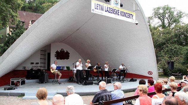 V šanovské Mušli jsou přes léto kolonádní koncerty