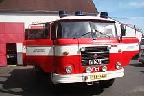 Údržbě svého Matesa věnují hasiči z Proboštova spoustu času.