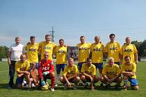 FK Teplice, bývalí hráči. Ilustrační foto.