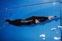 David Vencl pod vodou