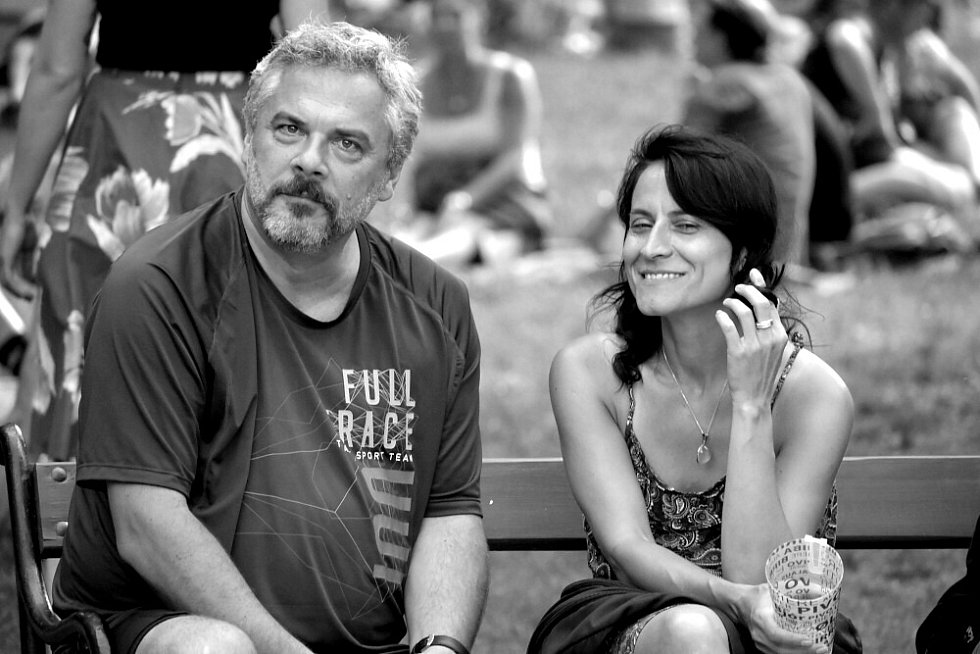 """Velká Malá Paříž v """"době"""" černobílého filmu."""