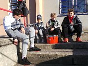 Mladí fanoušci Hvězdy Trnovany