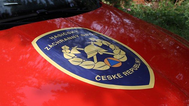 Zásah hasičů - cvičení u zavalených lidí v šachtě