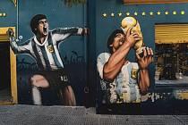 Diego Maradona byl bůh s číslem 10 na zádech.
