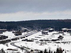Na hraničním přechodu Cínovec – Altenberg (na snímku) je klid.