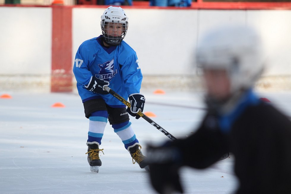 Malí hokejisté Teplic už trénují