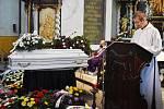 Pohřeb Stanislava Tomáše v Teplicích