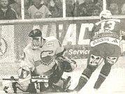 V sezoně 1999/2000 vyřadila Litvínov z boje o finále Sparta. Rozhodl tento Žemličkův nájezd.
