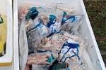 Veterinární správa zachytila u Teplic 75 kilogramů živočišných produktů, převážených v dodávce při nevyhovující teplotě