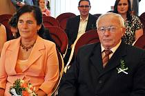 Manželé Sochůrkovi z Košťan oslavili 50 let společného života