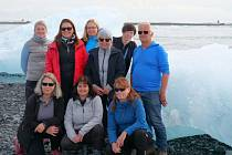 Projektová schůzka na Islandu.