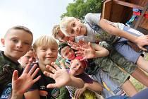 Ilustrační snímek. Dětský tábor.