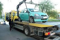 Odtahy aut v Teplicích