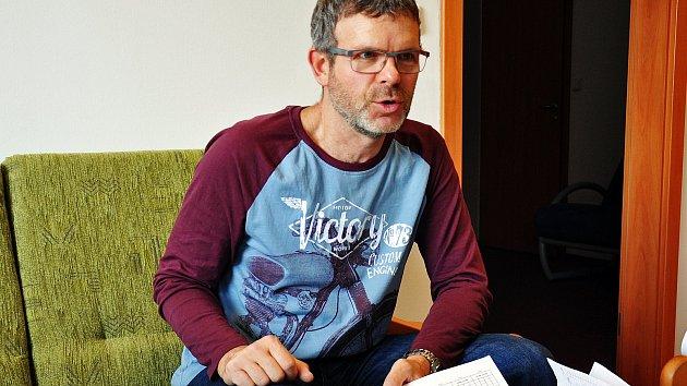 Jan Kerner, ředitel sportovní haly Teplice