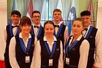 Hotelová škola obsluhovala v Lánech, šlo o náročnou misi.