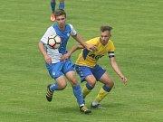 První barážový zápas dorostu o fotbalovou extraligu vyhrály v Liberci 2:0 Teplice