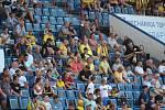 Diváci na fotbale Teplice - Slavia. Ilustrační foto