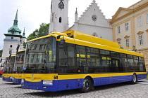 Hybridní trolejbusy v Teplicích, které dokáží dojet na baterie i do míst, kde není trolejové vedení.