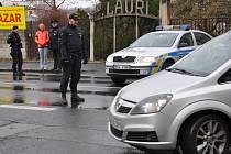 Uzavřená Nákladní ulice kvůli nálezu těla mrtvé ženy.