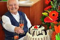 Paní Machová oslavila sto let