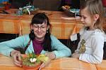 Velikonoční tvoření v Botanické zahradě v Teplicích.