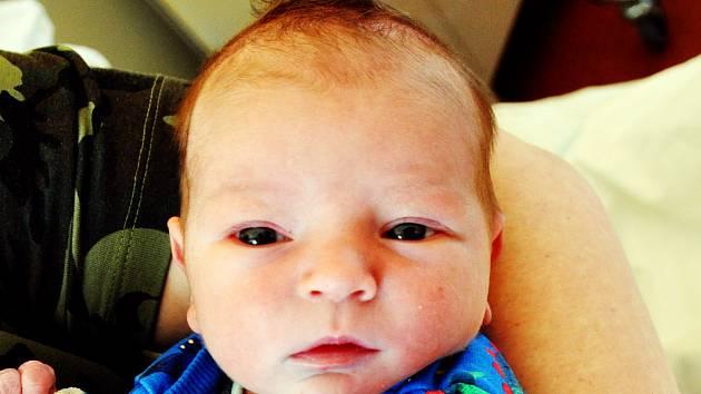 Ondřej Hanzel se narodil Karolíně Richtrové z Bíliny 16. března v teplické porodnici v 21,08 hodin. Měřil 54 cm, vážil 3,60 kg