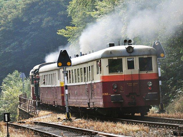 Železniční trať na Moldavu/ilustrační foto